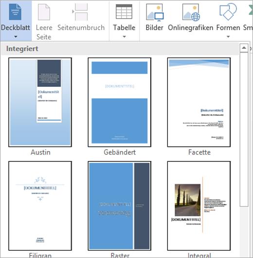 Erstellen und Verwenden von Bausteinen in Word Dokumenten   Word