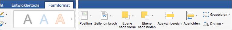 """Wenn Sie ein oder mehrere bereits markierte Objekte ausrichten möchten, klicken Sie auf """"Ausrichten""""."""