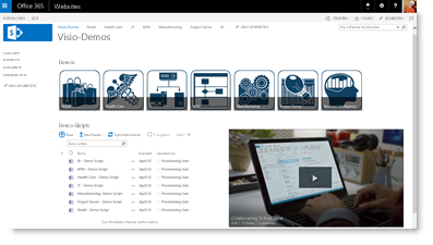 Ein Office 365-Video in eine Website einbetten