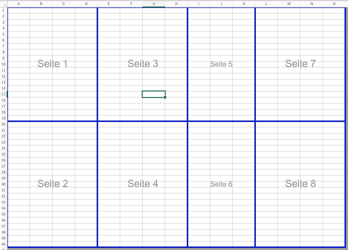 Erstellen manueller Seitenumbrüche in einem Arbeitsblatt mit Excel ...