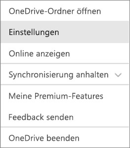 Aktivitätscenter in OneDrive für Mac