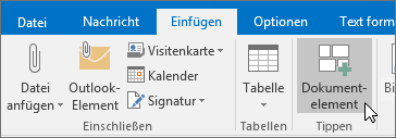 Neue Outlook-E-Mail