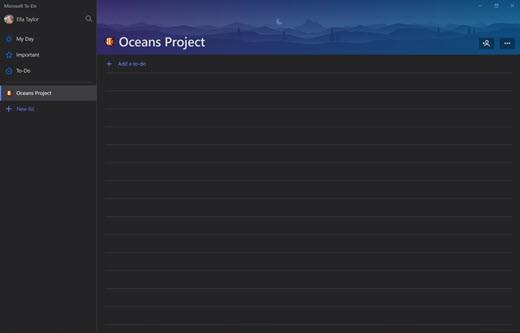 Erstellen eines Projekts