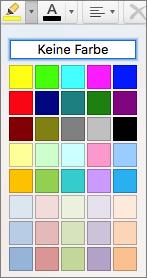 Wählen Sie eine Farbe aus.