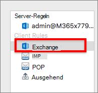 Exchange-Client Regeln