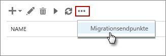 Name des Migrationsendpunkts