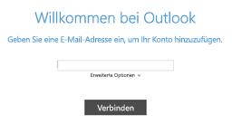 Hinzufügen eines neuen E-Mail-Kontos