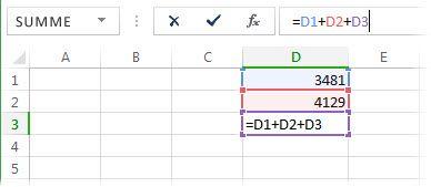 Eine Formel, die einen Zirkelbezug verursacht