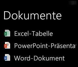 Desktopdokumente werden auf einem Windows Phone angezeigt, wenn Office Remote ausgeführt wird.