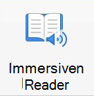 """Schaltfläche """"immersiver Leser"""""""