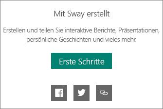 """Branding """"Mit Sway erstellt"""""""