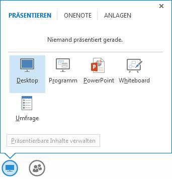 Freigeben Ihres Desktops