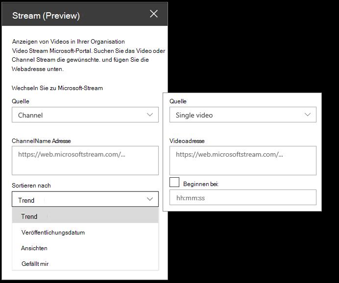 Microsoft Stream-Videotoolbox