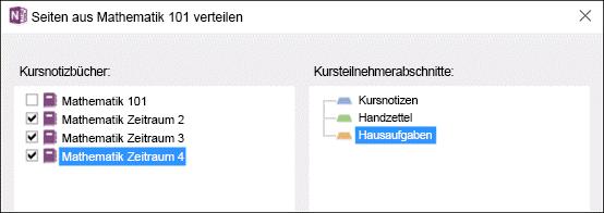 Notizbuch-Verteilung.