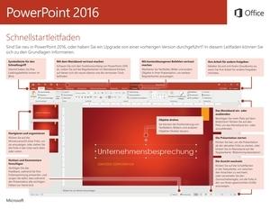 PowerPoint 2016 – Schnellstarthandbuch (Windows)