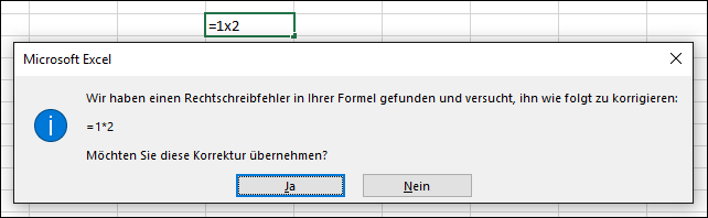 Vermeiden defekter Formeln - Office-Support