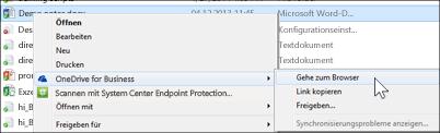 Anzeigen einer Datei in einem synchronisierten Ordner in einem Webbrowser