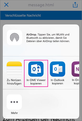OME Viewer mit Yahoo 3