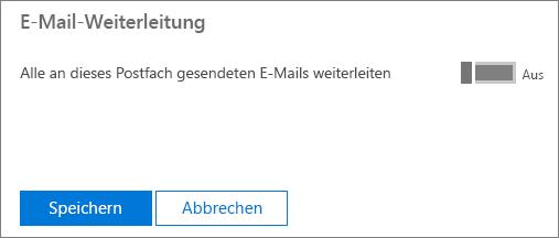 """Der Screenshot zeigt die Benutzerprofilseite für den Benutzer Allie Bellew mit """"E-Mail-Weiterleitung"""" auf """"Angewendet"""" festgelegt und einer verfügbaren Bearbeitungsoption."""