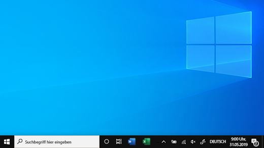 Taskleiste in Windows 10