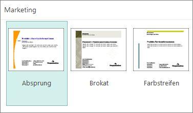 Werbepostkartenvorlagen für Publisher.