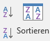 Daten sortieren und filtern