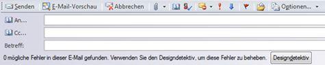 Senden einer Publikation als E-Mail in Publisher 2010
