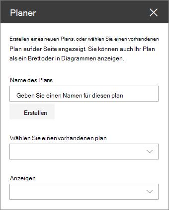 Planer-Webpart-Toolbox