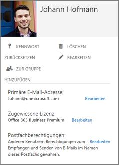 Bitten Sie die Benutzer, ihre Fotos hinzuzufügen, damit diese in der Verwaltungskonsole angezeigt werden.