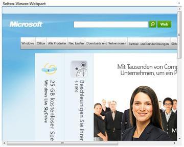 Seiten-Viewer-Webpart