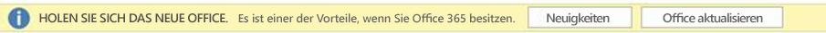 """Screenshot der Aufforderung """"Holen Sie sich das neue Office"""""""