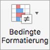Schaltfläche ' bedingte Formatierung '