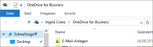 Alter Desktopclient für OneDrive for Business