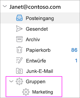 Outlook-Gruppen sind in Office 365 verfügbar!