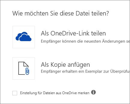 Wie möchten Sie diese Datei freigeben?