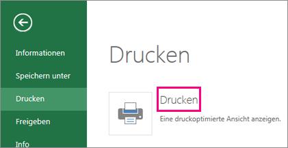 "Befehl ""Drucken"""