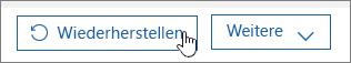 Wiederherstellen eines Benutzers in Office 365