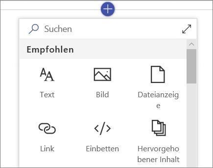 "SPO – Toolbox ""Webparts"""