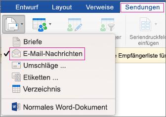 Serien-E-Mail