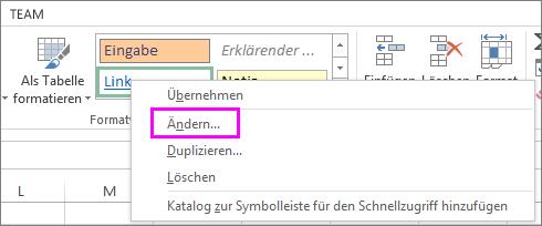 """""""Linkformatvorlage"""" im Schriftartenkatalog"""