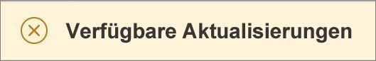 """Nachricht """"Aktualisierungen sind verfügbar"""""""