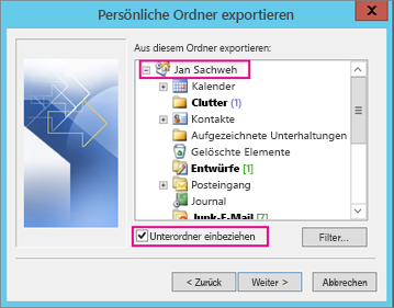 Outlook 2010 Export Pst >> Synchronisieren von Outlook- und Apple iPhone- oder iPod ...