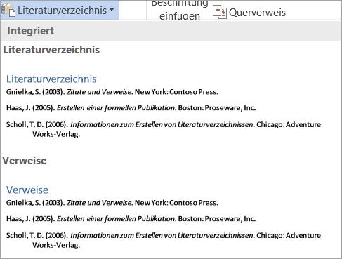 Literaturverzeichnis-Katalog