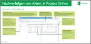 Erfassen von Arbeitszeit in Project Online – Leitfaden für den Schnelleinstieg