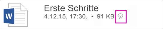 Datei als Offline markiert.