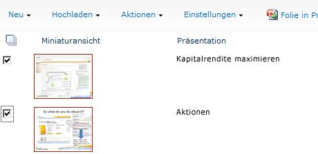 Beispielfolienbibliothek