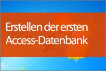 Erstellen Ihrer ersten Access2013-Datenbank