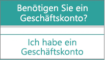 """Option """"Ich habe ein Geschäftskonto"""" in der mobilen Microsoft StaffHub-App"""