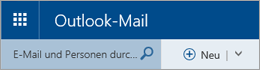 Outlook-Mail-Menüleiste