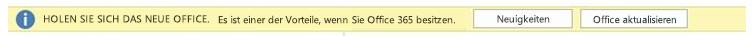 Abrufen des neuen Office